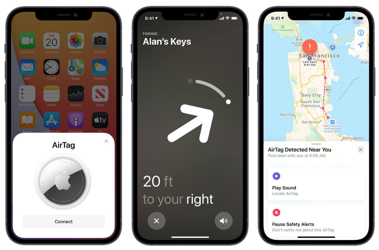 Apple AirTag app