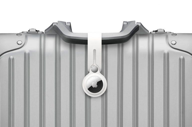 Apple AirTag Bluetooth tracker