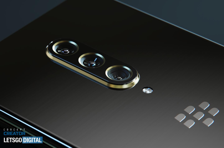 BlackBerry 5G smartphone camera