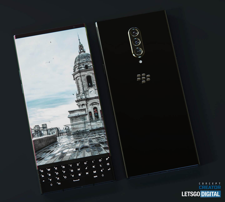 BlackBerry smartphone 2021