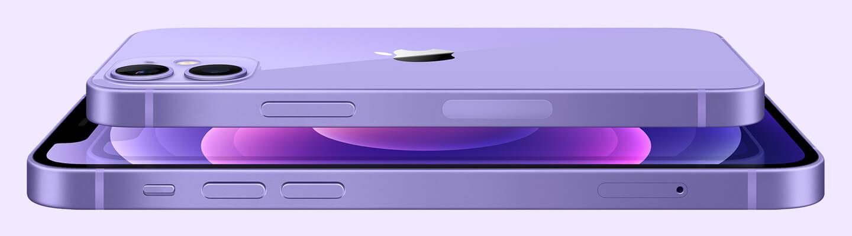 iPhone 12 mini paars