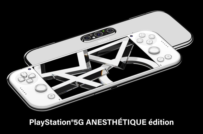 Playstation 5G handheld game console
