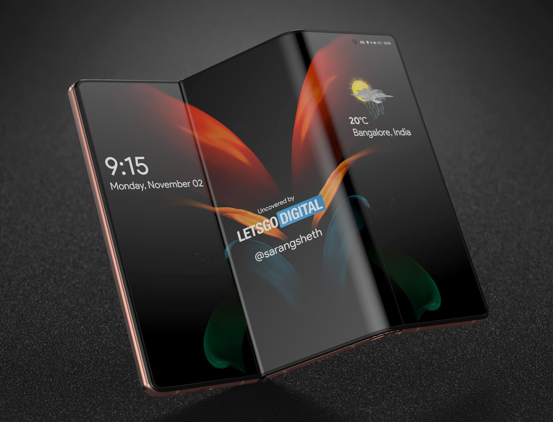 S-Foldable opvouwbare smartphone