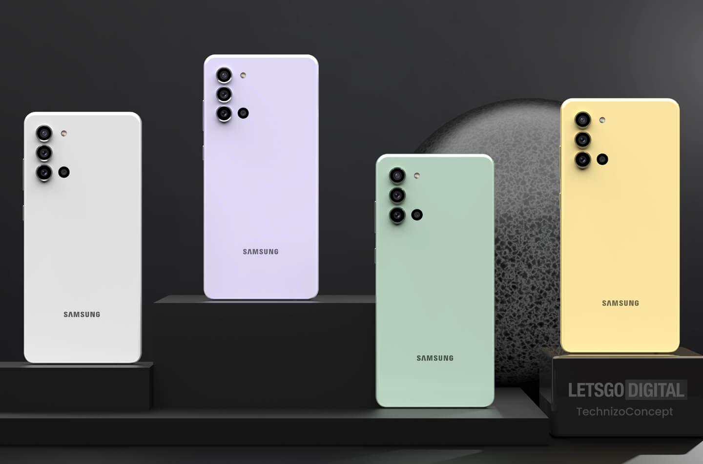 Samsung A22 kleuren