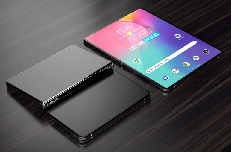Samsung Galaxy Tab opvouwbare tablet