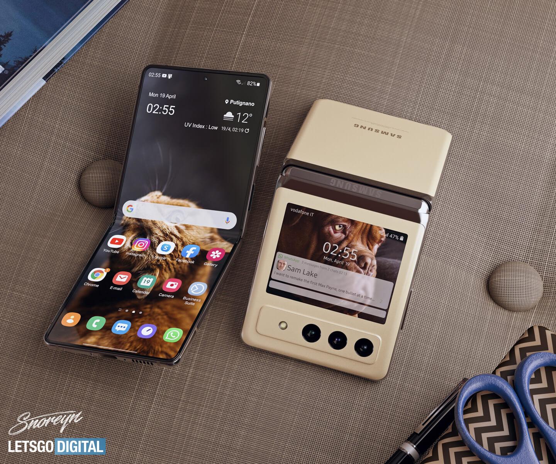 Samsung Galaxy Z Flip 3 batterij