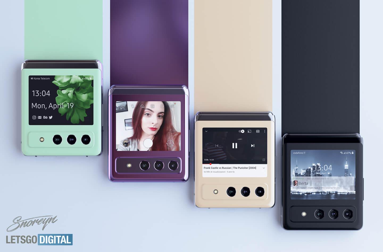 Samsung Galaxy Z Flip 3 camera