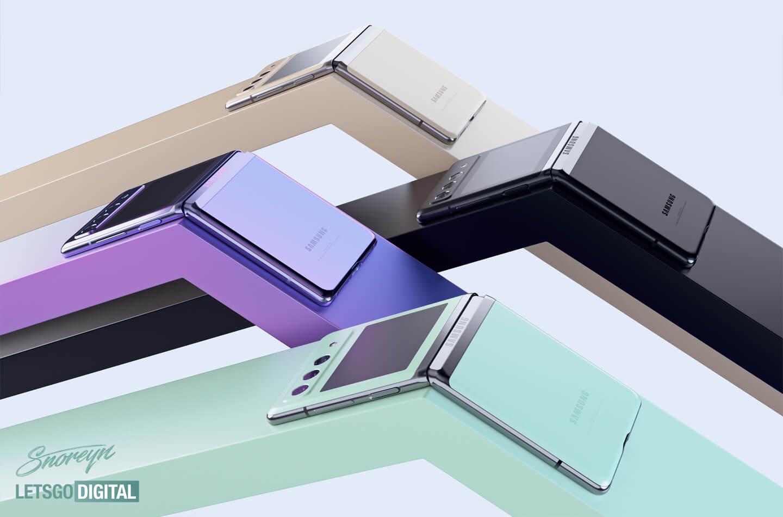 Samsung Galaxy Z Flip 3 kleuren