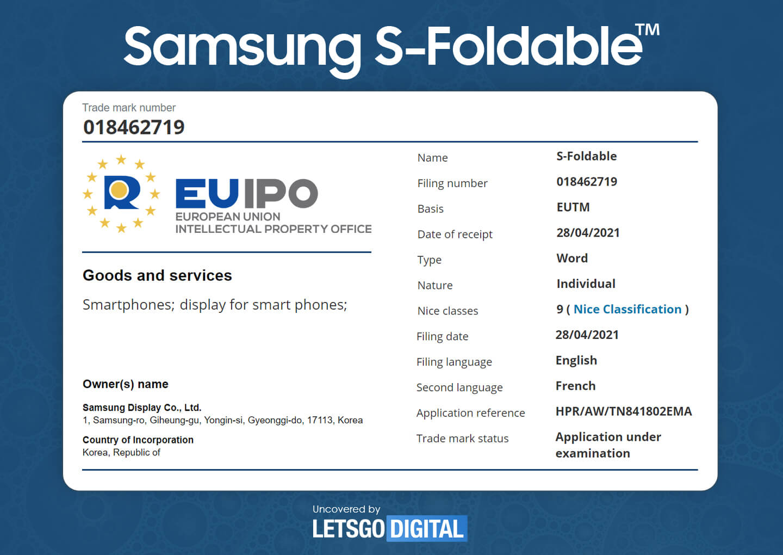 Samsung S-Foldable