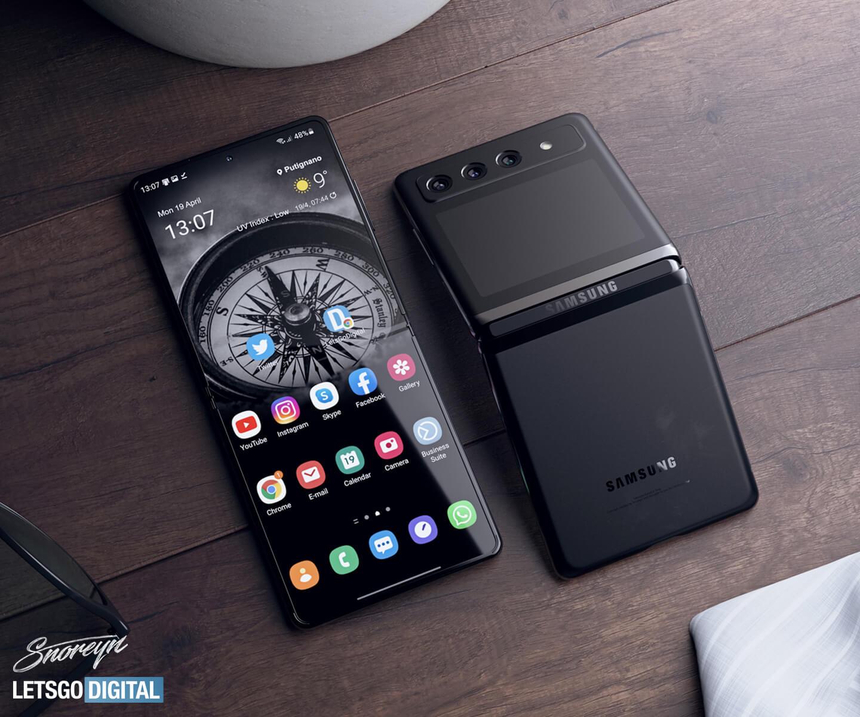 Samsung Z Flip 3 opvouwbare smartphone