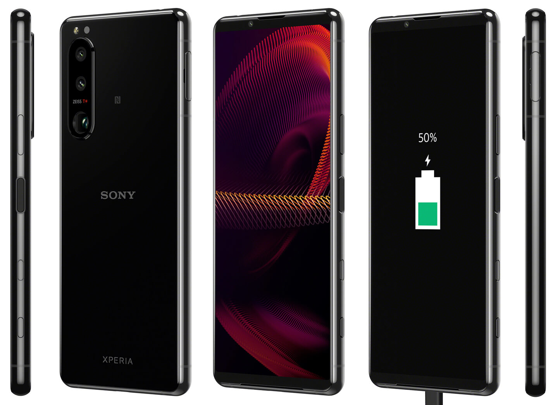 Lente telefoto variável Sony para smartphones