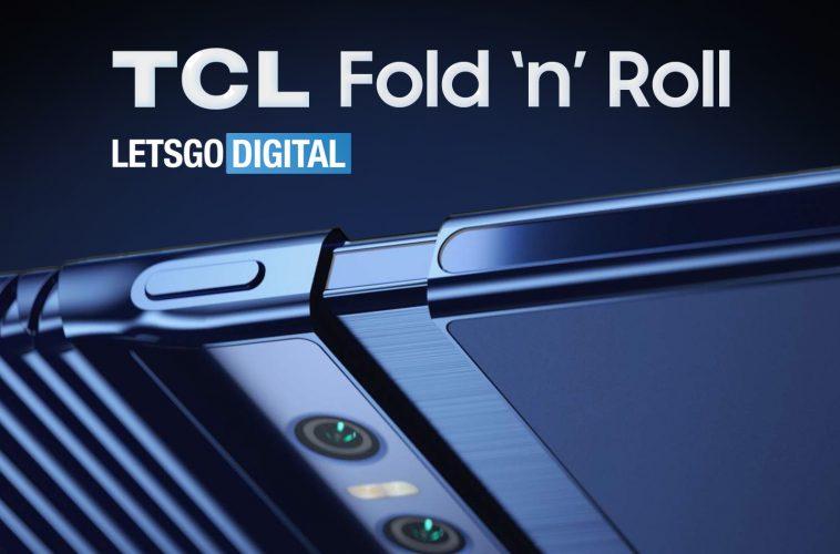 TCL Fold oprolbare opvouwbare smartphone