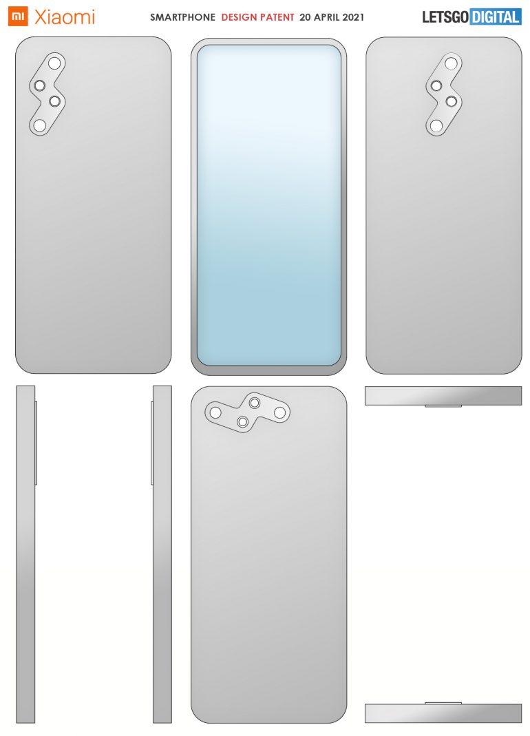 patente diseño xiaomi