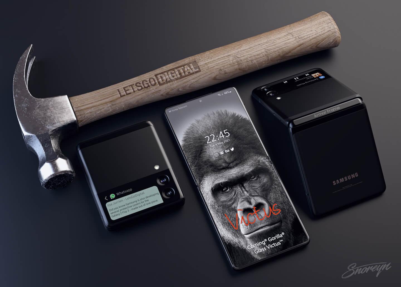 Galaxy Z Flip 3 smartphone cover