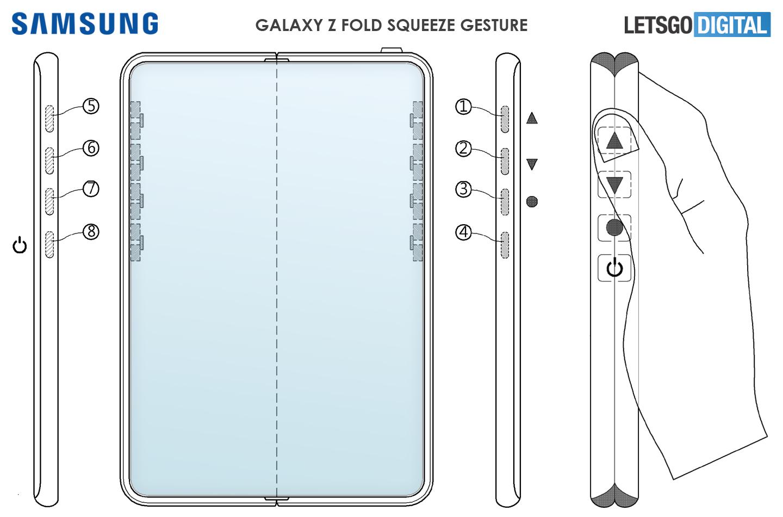 Galaxy Z Fold 3 gesture functies