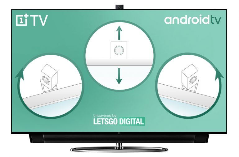 OnePlus TV pop-up camera