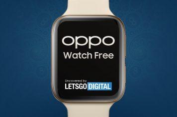 Oppo Watch Free smartwatch