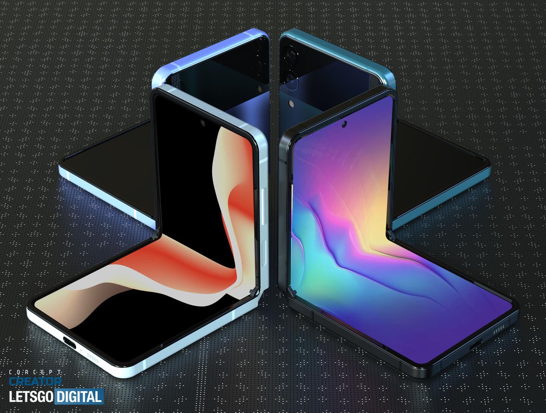 Opvouwbare Galaxy smartphone