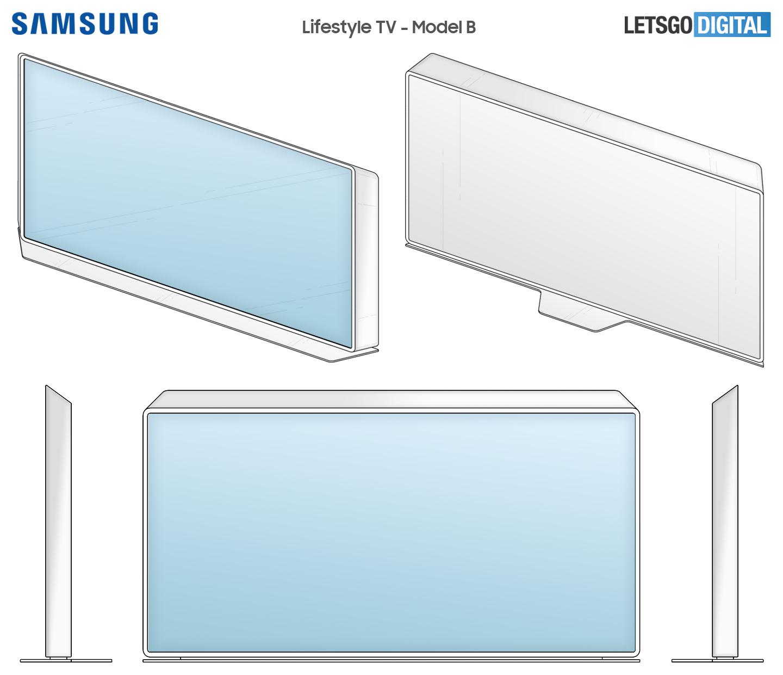 Samsung breedbeeld design televisie