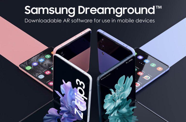 Samsung Dreamground gaming service Galaxy smartphones