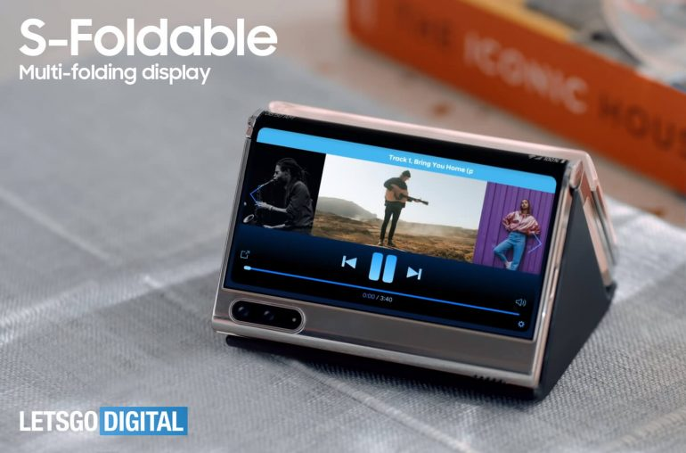 Samsung Galaxy S-Foldable slidable devices