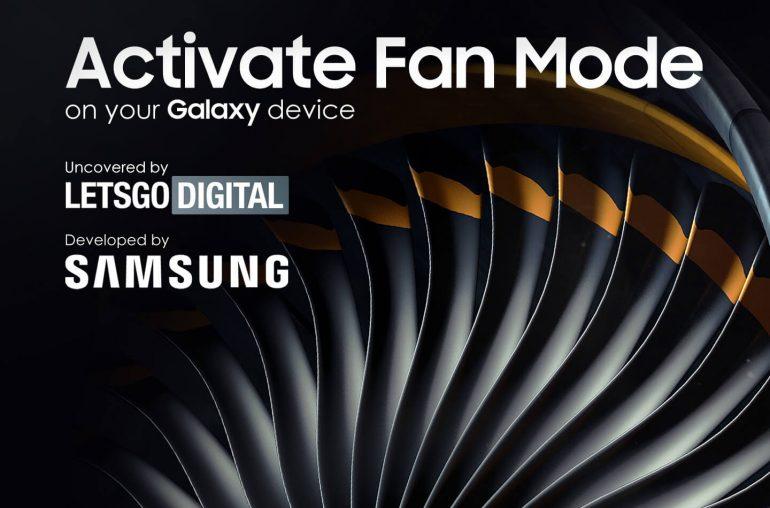 Samsung Galaxy smartphones Activate Fan Mode