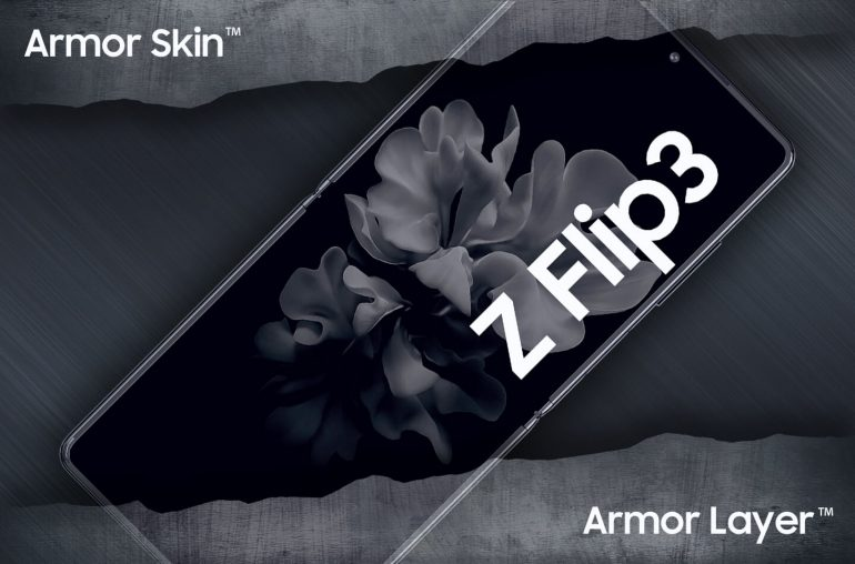 Samsung Galaxy Z Flip 3 Armor Skin Layer