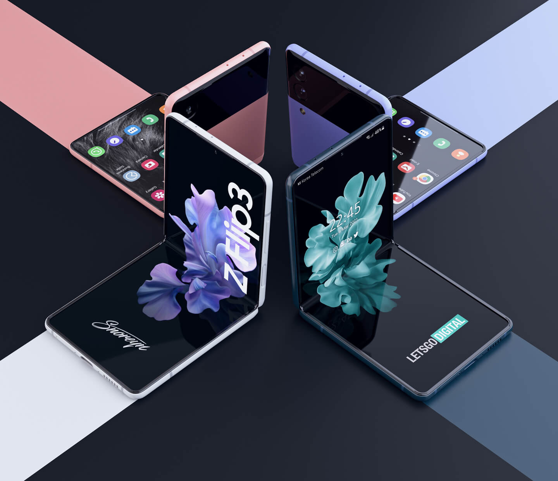 Samsung Galaxy Z Flip 3 kleurvarianten