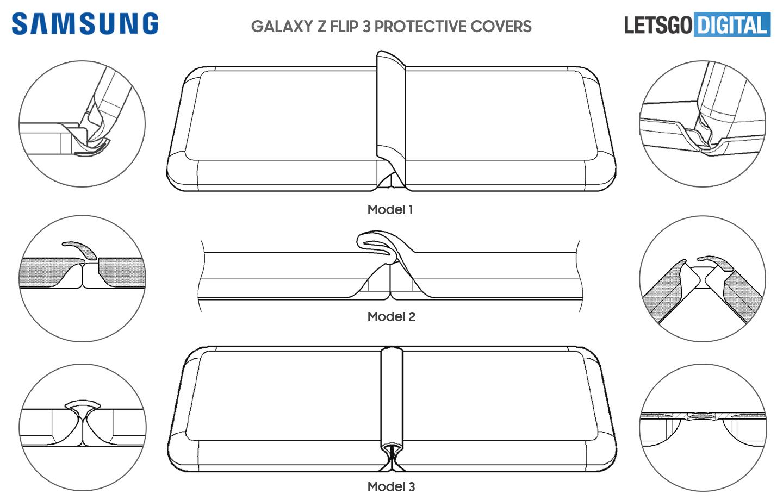 Samsung Galaxy Z Flip 3 telefoonhoesjes