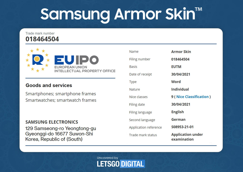 Samsung Galaxy Z-Fold 3 Armor Skin
