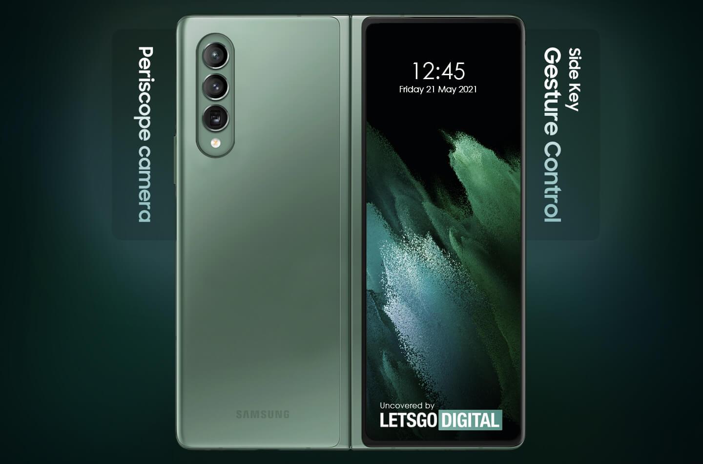 Samsung Galaxy Z Fold 3 opvouwbare smartphone