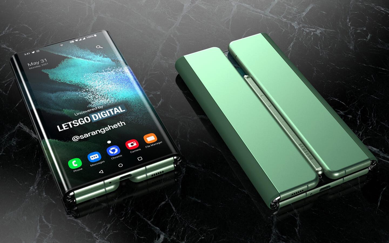 Samsung Galaxy Z Fold 3 Tab