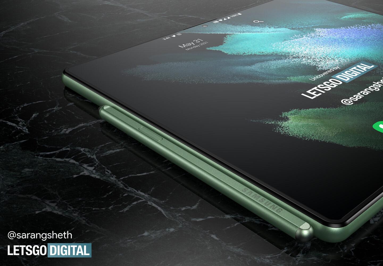 Samsung Galaxy Z Fold tablet S Pen
