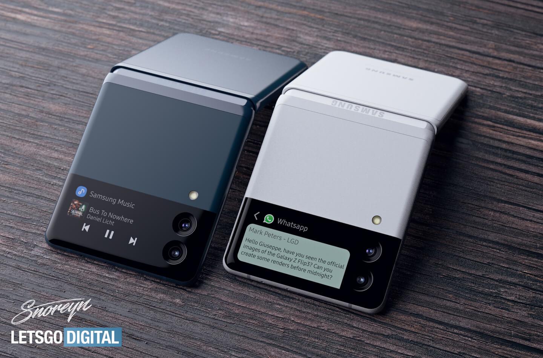 Samsung Z Flip 3 camera