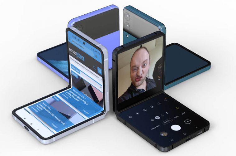 Samsung Z Flip 3 opvouwbare Galaxy smartphone