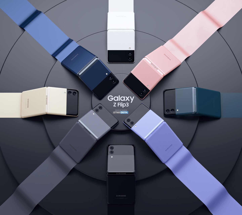 Samsung Z Flip 3 smartphones