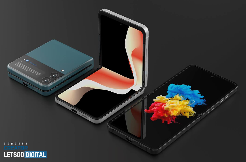 Samsung Z Flip 3 video