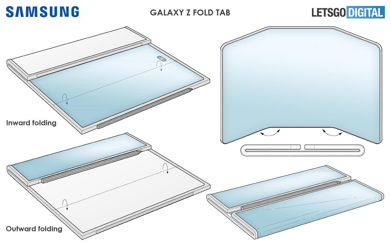 Samsung Z Fold Tab S Pen