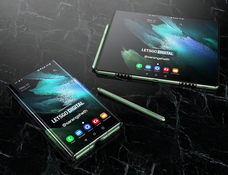 Samsung Z Fold Tab