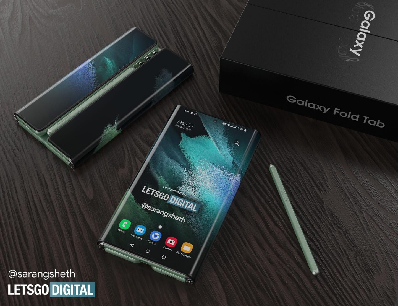 Samsung Z Fold tablet