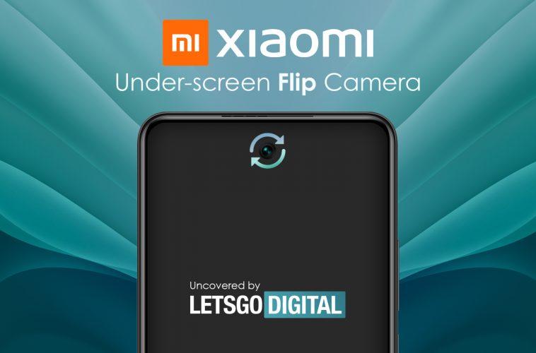 Xiaomi smartphone flip camera