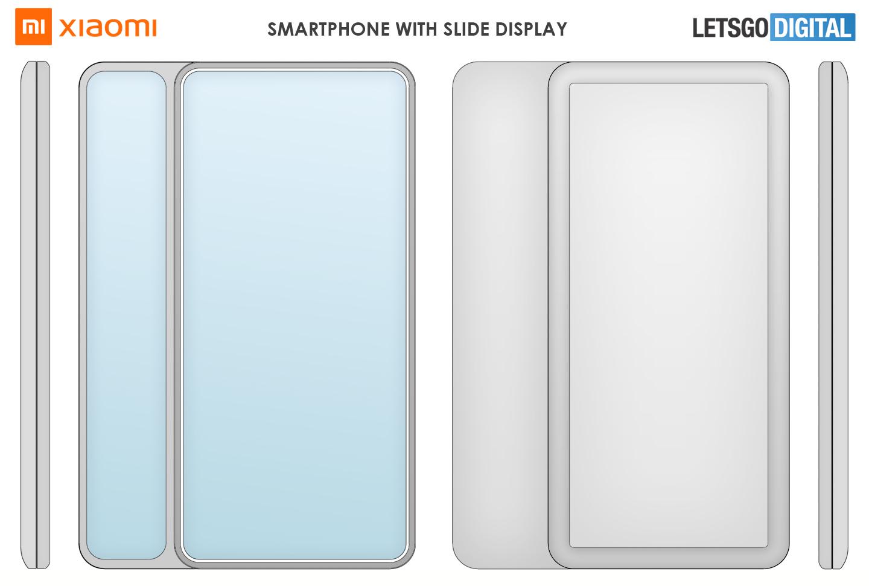 Xiaomi smartphone side display