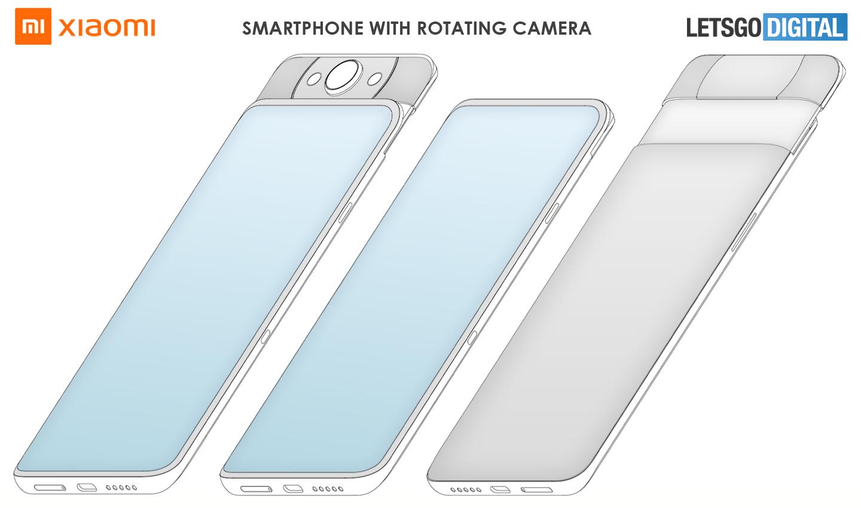 Xiaomi smartphones uitschuifbare camera
