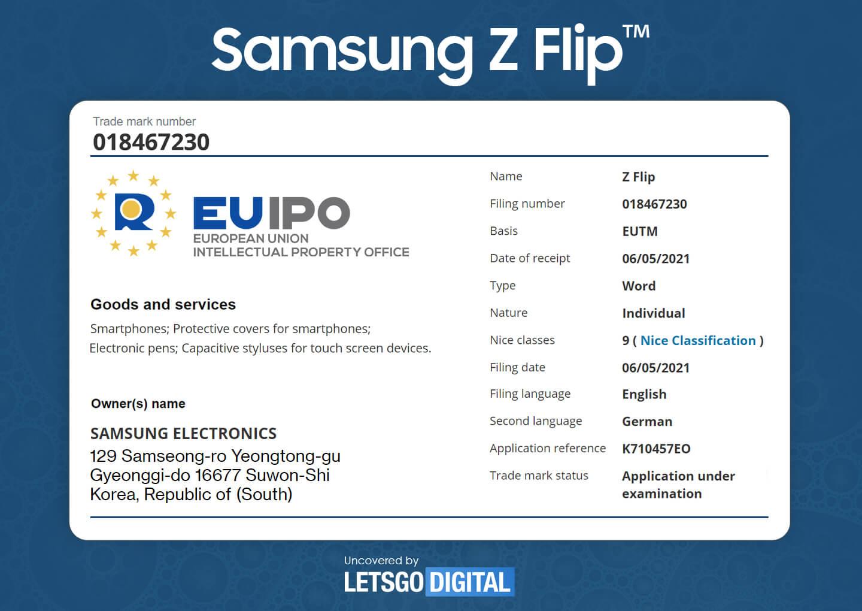 Z Flip Samsung S Pen
