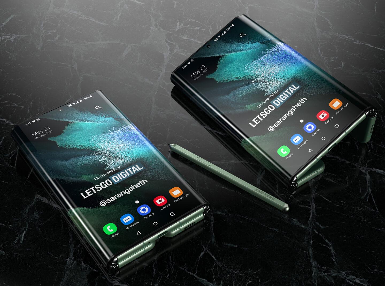 Z Fold 3 tablet