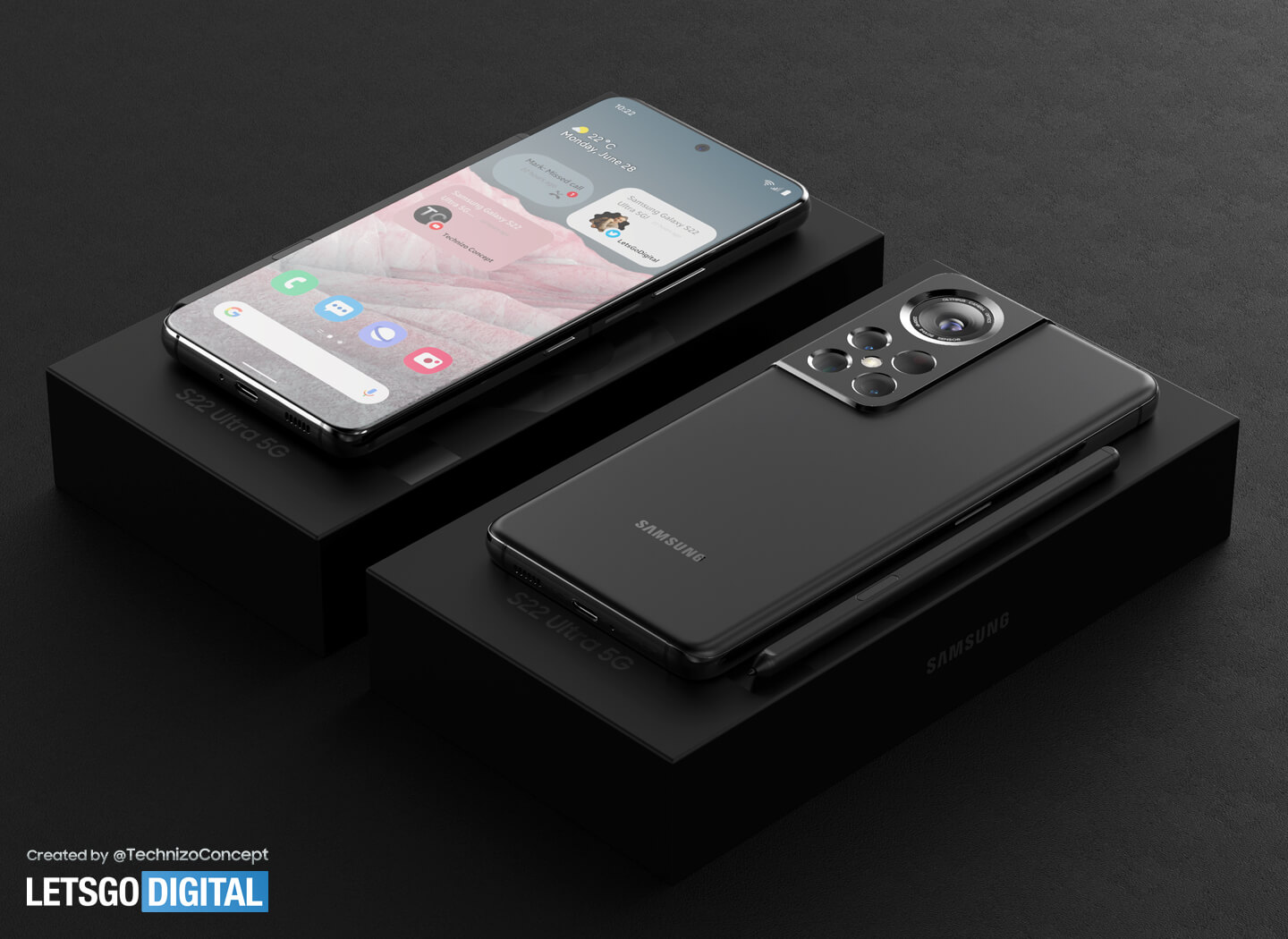 Android 12 smartphone