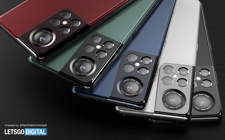 Galaxy S22 Ultra kleur opties