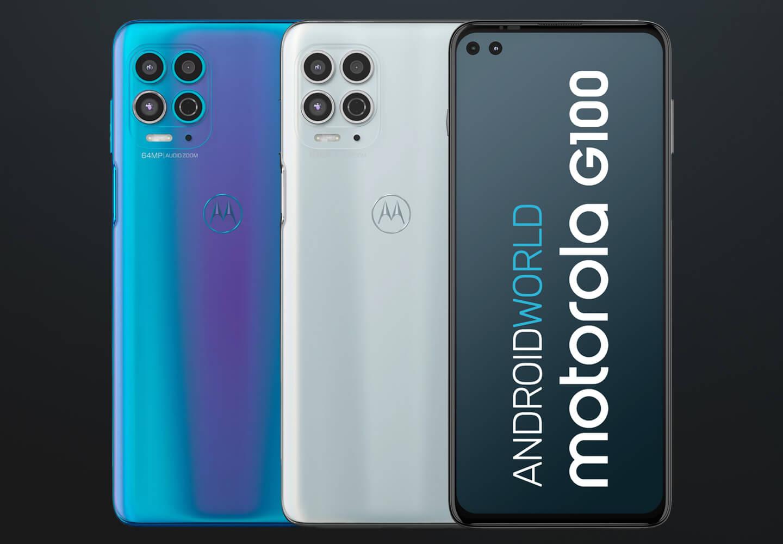 Motorola G100 review
