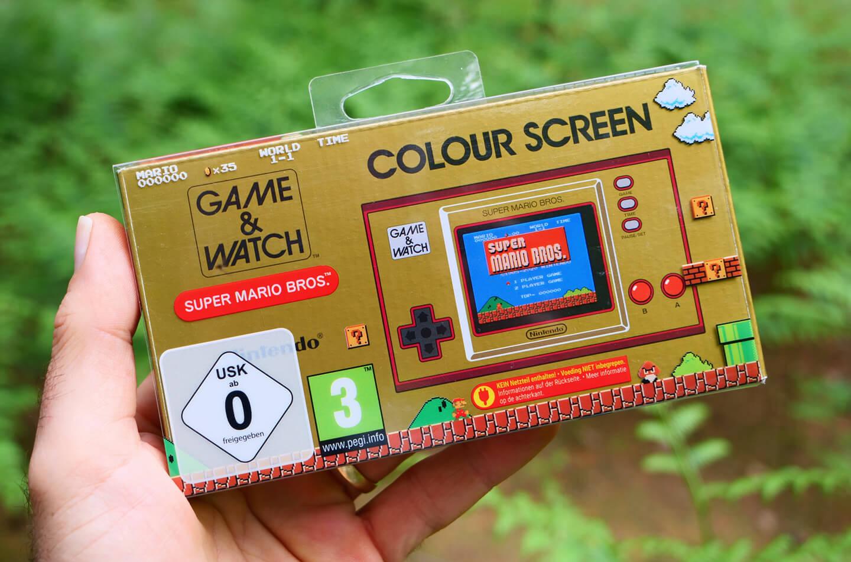 Nintendo Game & Watch handheld