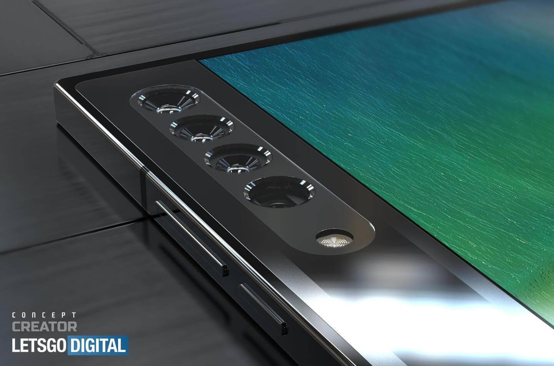 Oppo smartphone zoom camera